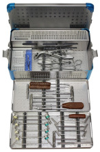 COMPLETE SET OF VETERINARY ORTHOPEDIC INSTRUMENTS AND IMPLANTS