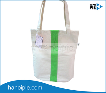 Cotton shopping bags wholesale canvas tote bag promotion organic cotton bag in Vietnam