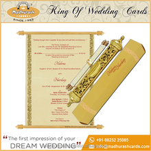 Royal Scroll invitation Card Collection
