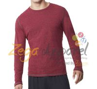 Zegaapparel custom Comfortable 78%cotton 17%polyester 5% elastane Pullover Hoodies Long Sleeve men wholesale crewneck