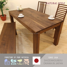 Easy to use and Reliable dining table designs teak wood table for house use , various size also available