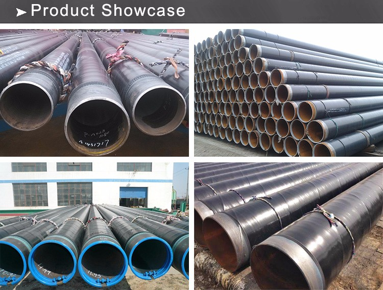 Top Quality seamless steel DIN 30670 3PE Coating Pipe