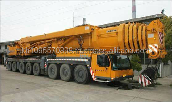 Cheap used Liebheer 500 ton truck crane on Sale in Shanghai