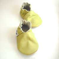 soft sole baby shoes Leather chaussons Krabbelschuhe olive 2 3 y ebooba