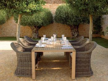Dining Set Tuin : Classic patio outdoor rieten rotan eetkamer set tuin outdoor