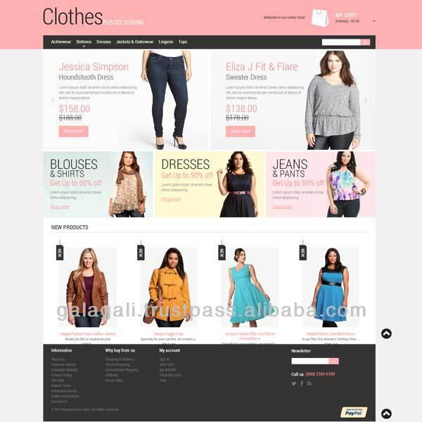 Garments Website Templates, Garments Website Templates Suppliers ...