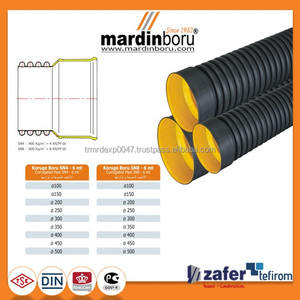 HDPE SN4 Double Wall Corrugated Pipe and Drainage system