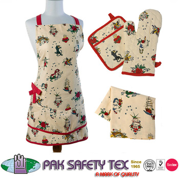 Bistro Aprons/complete Range Of Kitchen Made Ups Aprons,Mitten ...