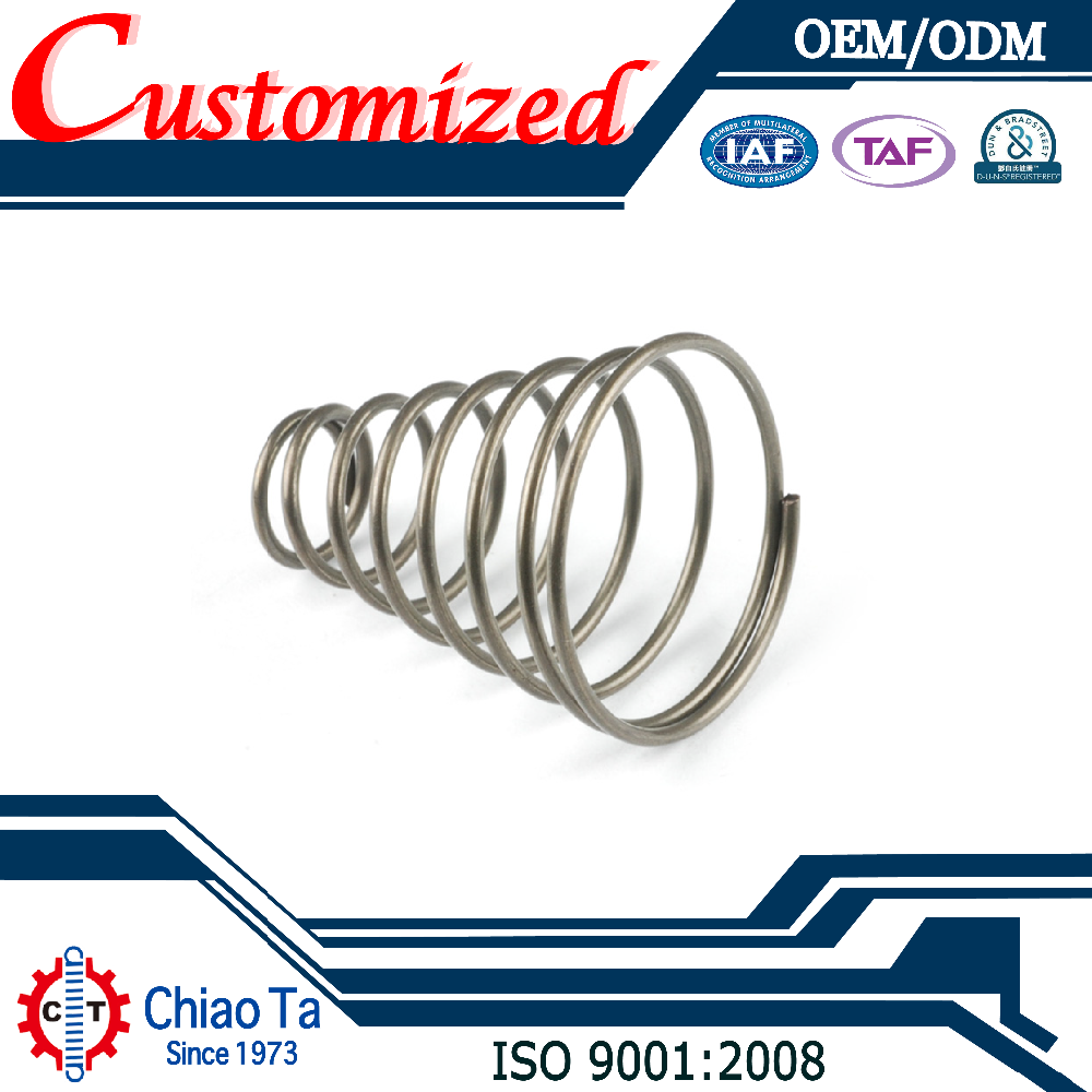 Customized High Tension Dual Mass Special Torsion Coil Spring