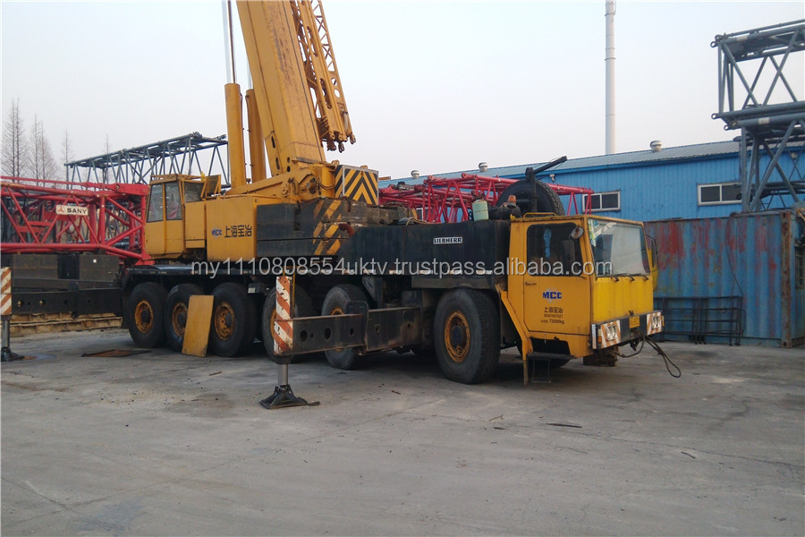 used 160t Liebherr truck crane for sale, lower price call+86 15021521808