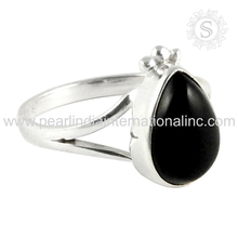 wonderful 925 Sterling Silver Jewelry Black Onyx Ring Handmade Silver Jewellery Wholesale Manufacturing Online