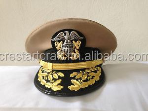 Navy Admiral Hats Crestart Craft - Buy Navy Captain Hat Product on  Alibaba com