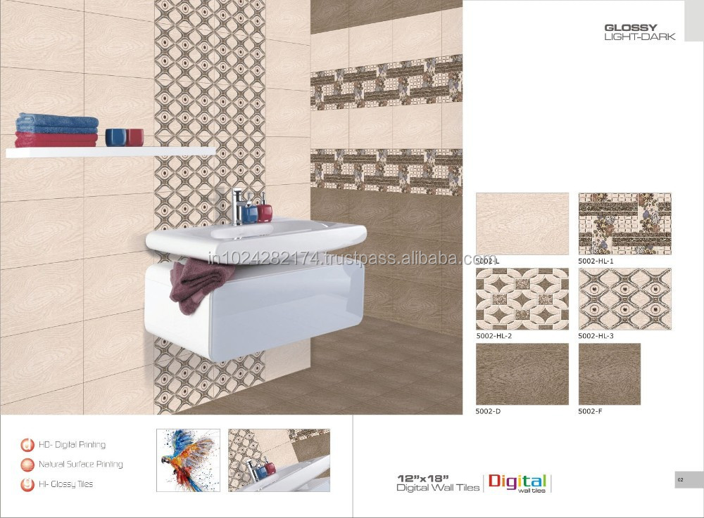 3d Wall Tiles Designs Inkjet Marble Ceramics Wall Tiles 5002 - Buy ...