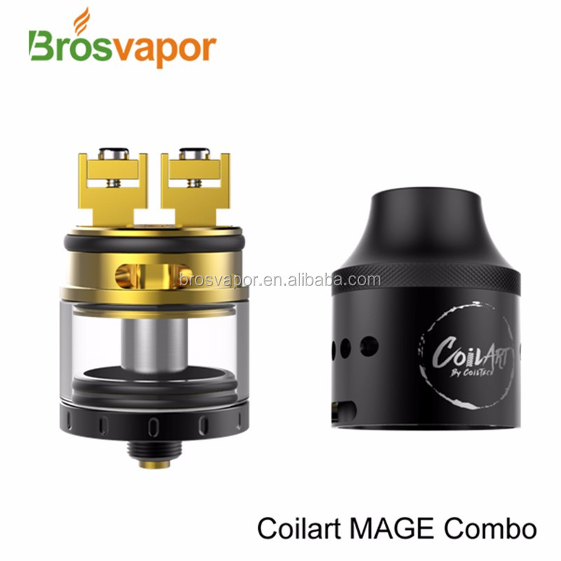 2016 New product CoilArt MAGE Combo RDTA Tank 4.0ml from brosvapor