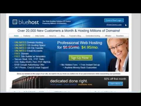 Bluehost Review - Biggest Discount With Bluehost