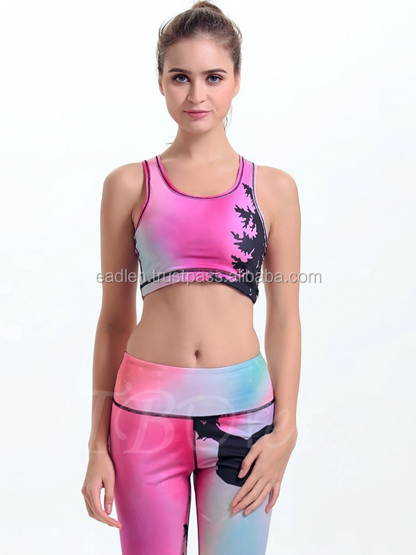 Wholesale Ladies Sports Bra,Custom Hot Sexy Women's Running Yoga Sports