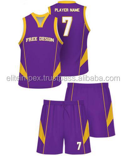 92076d03ffe Sublimation Printed Violet Basketball Jersey - Buy Ublimation ...