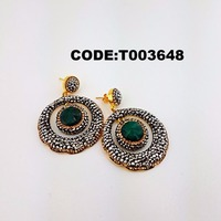 Wholesale 2017 turkish made new model , different earring , 925 sterling silver