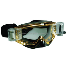 MX GOGGLES WITH ROLL OFFS MOROCROSS GOGGLES
