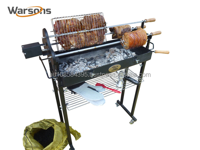 Cyprus Luxe Spit Grill Houtskool Bbq Grill Sp010 13a 3mm T