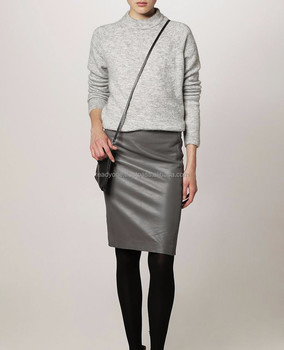 mature women office skirts designs pencil skirts leather