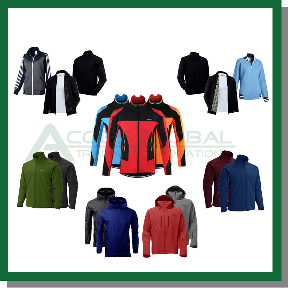 Customized Jackets with company logo for Corporate Giveaways and Souvenirs - Embroided or Printed with logo