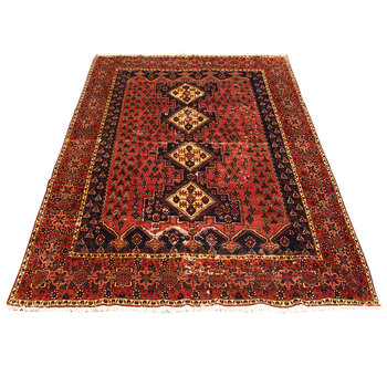 Hand Woven Persian Wool Rug Knotted Pile Carpets Whole Area Rugs Used