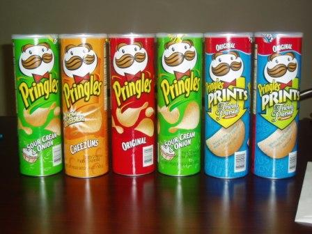 showroom pringles potato chips