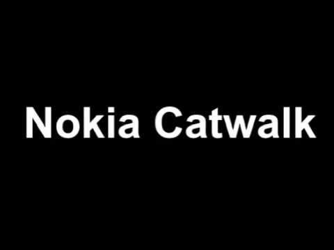 Nokia Catwalk with Aluminum case and camera