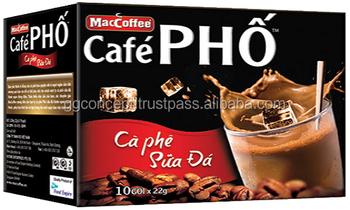 Maccoffee Pho Coffee Instant Milk Taste Coffee 240g Box
