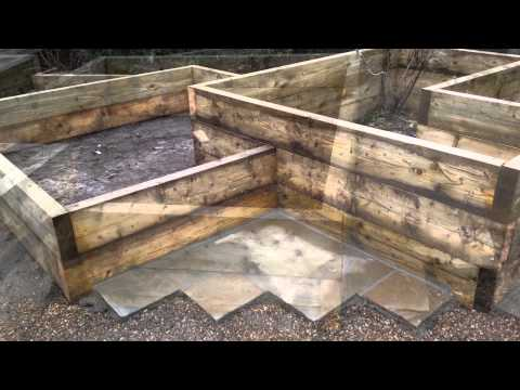 Get Quotations · How To Build A Vegetable Garden In Raised Beds Using  Wooden Boxes