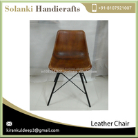 Antique Design Premium Quality Durable Leather Chair from Top Ranked Supplier