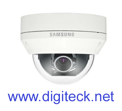 SS408 - SAMSUNG SCV-5082 1000TVL WDR VANDAL-RESISTANT CCTV DOME CAMERA DAY & NIGHT 3.3X VARIFOCAL LENS IP66 WEATHERPROOF HIGH RE