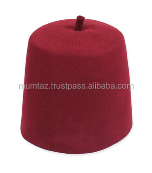 Cheap Party Fez Hats Wholesale Fez Hats For Turkey Men/100% Sheep Wool Red  Fez Hats With Black Tassel - Buy Cheap Party Fez Hats Wholesale Fez Hats