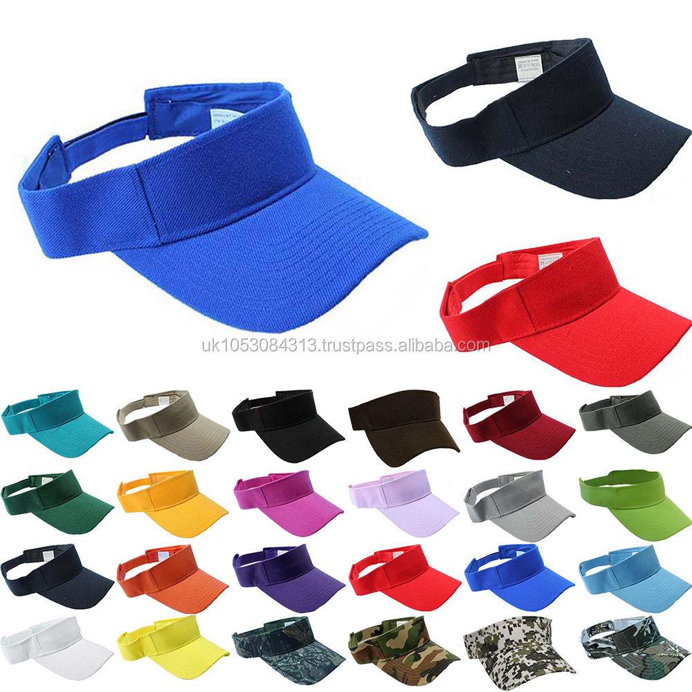 Adult Colorful Sun Visor Hat ef7754bbc6ff