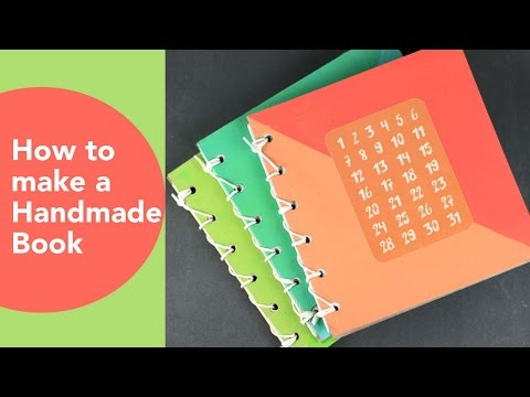 How to Make a Handmade Book | Handmade Holidays 2015 | Easy DIY GIft Ideas | Book Binding