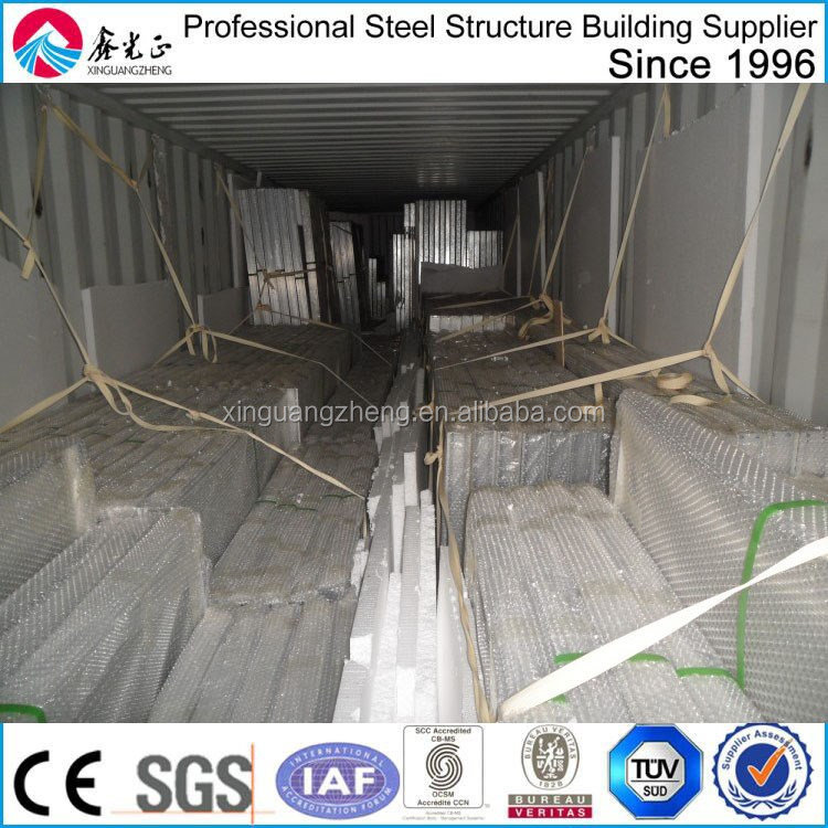 prefabricated light steel metal workshop storage