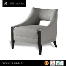 Indrapuras modern sofa one seater with armrest indonesia furniture
