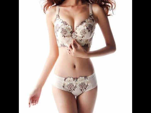 ROPALIA Sexy Women Lace Floral Printed Underwear Padded Push Up Bra Sets & Panty