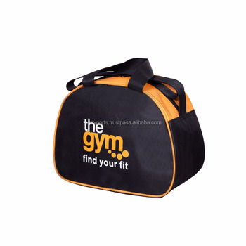 343ac4dec7cf Personalized U-zip Opening Sports Duffld Gym Bag with shoe compartment