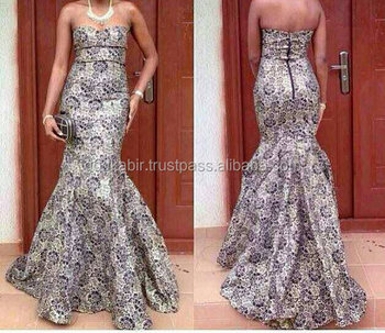 Latest african print evening dresses