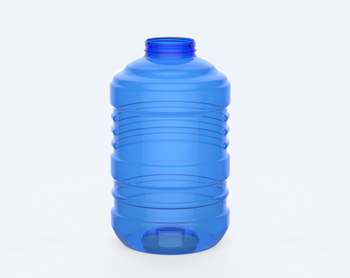 PET Plastic Bottles 5 gallon (21 liters) Duy Tan VN