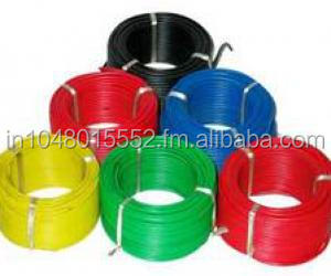 PVC Wires & Cables with flexible copper conductor