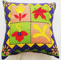 Block Print Fabric Indian Cushion Cover Throw Pillowcases Vintage Home Decor