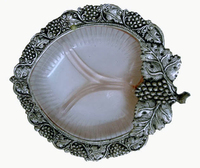 Epns And Metal Handicrafts White Metal Leaf Bowl - Buy Gifts ...