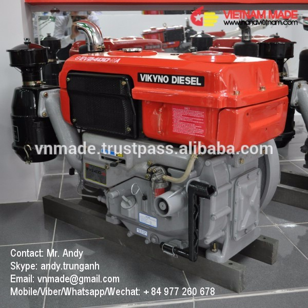 engine brand VIKYNO using diesel EV2400 with radiator and lamp