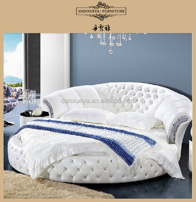 Danxueya oval round bed round bed prices white sex double bed design furniture view oval round - Letto rotondo prezzi ...