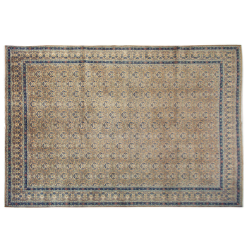 Antique Persian Rug More Than 100 Years Old Vintage Luxury Hand Knotted Brown And Garay Wool Whole Rugs Carpets Used
