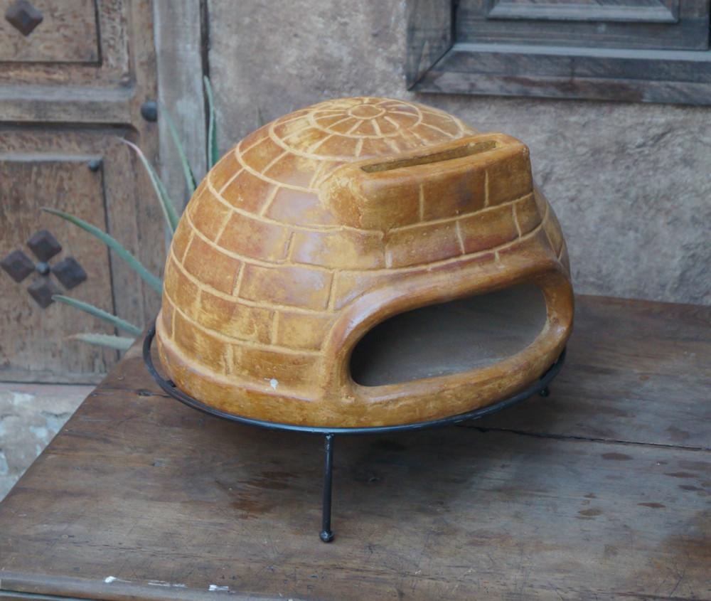 Forno a legna per pizza in pietra portatile altri - Pietra refrattaria da forno per pizza ...