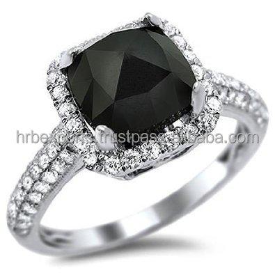 Rare Big Sizes Black Diamond Ring14k White/yellow Gold -diamond Engagement  Ring,Cheapest Black Diamond Ring India - Buy 24k Gold Diamond Ring,18k  Yellow ...